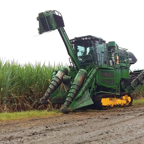 Sugarcane harvest monitor